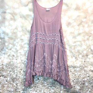Women Free People Boho oversized cami, size  M